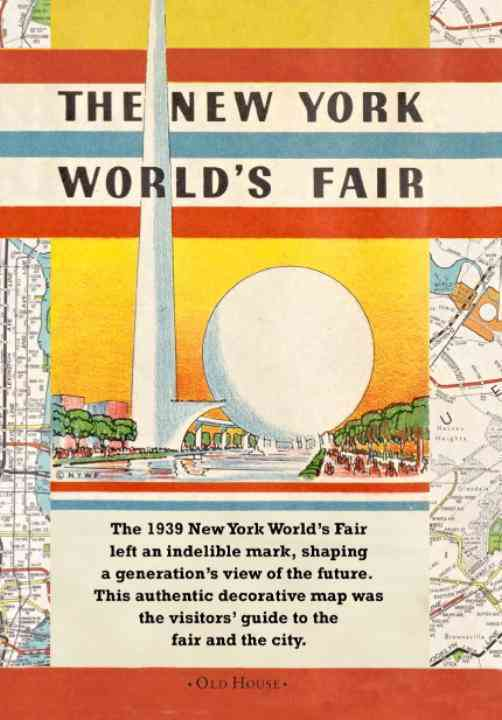 Map of the New York World's Fair 1939 By Company